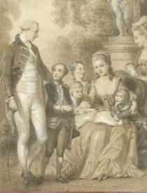 Mme de Genlis et la famille d'Orléans