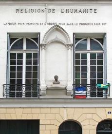 Auguste Comte, les positivistes et Paris