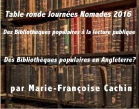Journée Nomade: les bibliothèques populaires anglaises