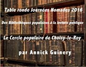 Journée Nomade: le Cercle de Choisy-le-Roy