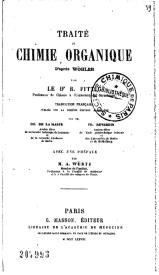 Serie-B- Woelher - Chimie organique et inorganique