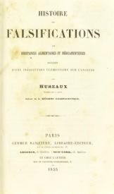 Serie-B- Hureaux - Falsifications des substances alimentaires