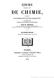 Serie-B- Deguin, M. - Cours de Chimie