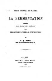 Serie-B- Basset, N. - Traité de la fermentation