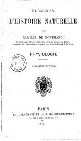 Serie-C- De Montmahou,Camille - Physiologie