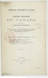 Serie-C- Logau, E - Esquisses géologiques du Canada