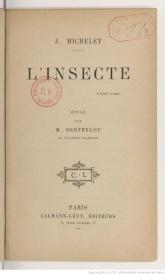 Serie-C- Michelet, J. - L'insecte