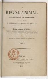 Serie-C- Cuvier, G. - Le règne animal