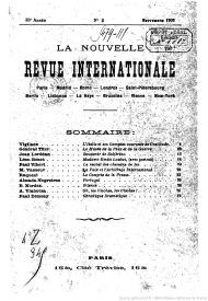 Nouvelle revue internationale européenne
