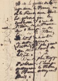 Victor Hugo Carnet de 1872