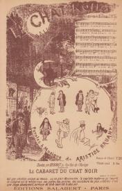 Au cabaret ou chez soi, chansons du 19e siècle