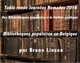 Journée nomade: bibliothèques populaires belges