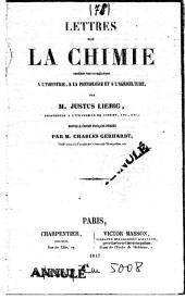 Série-B- Liebig - Lettres sur la Chimie