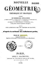 Serie-A- Sonnet, Hte - Nouvelle Géométrie théorie et pratique