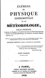 Serie-B- Pouillet,B. - Physique et météorologie