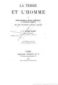 Serie-C- Maury, A. - La terre et l'homme