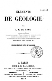 Serie-C- Le Canu - Eléments de géologie