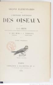 Serie-C- Chenu, Dr. - Oiseaux