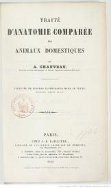Serie-C- Chauveau,A. - Anatomie des animaux domestique