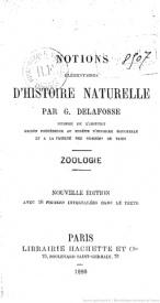 Serie-C- Delafosse, G. - Eléments de zoologie