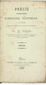 Serie-C- Delafosse, G. - Atlas d'histoire naturelle