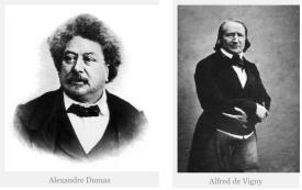 Dumas et Vigny