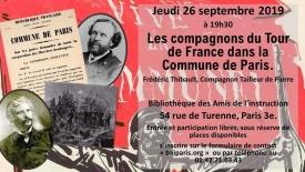 Compagnons du tour de France et Commune